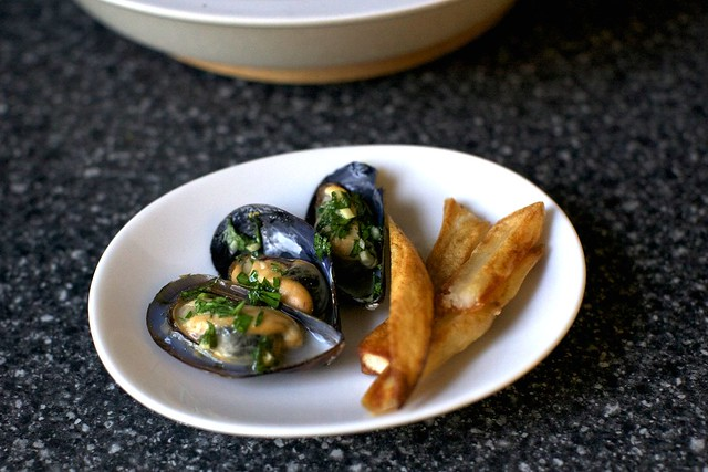 moules frites-ish
