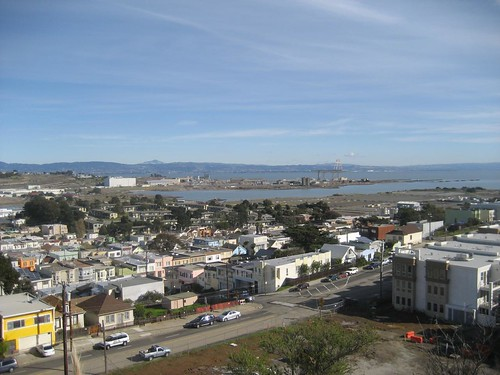 A view of Bayview-Hunters Point in San Francisco