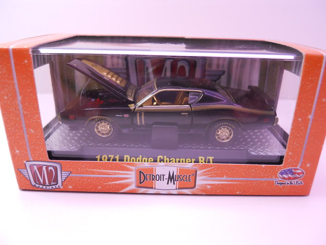 m2 1971 dodge charger rt chase