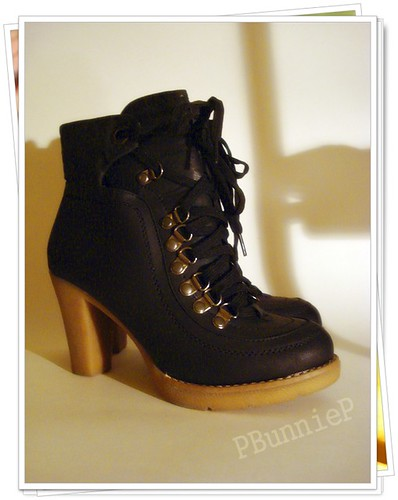 Urban Planet laceup boots