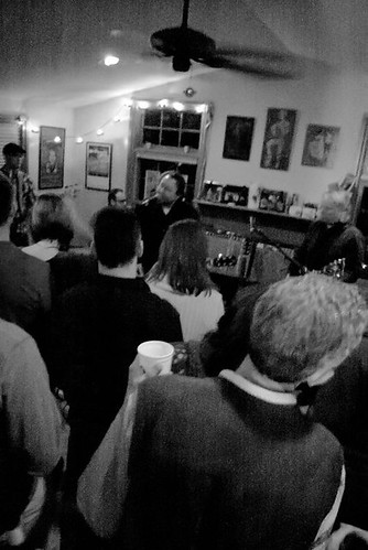 the 'Mericans live @ Roots Hoot House Concert 15th January 2011