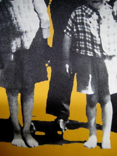 """Alan Bennet, Una vita come le altre, Adelphi, 2010, [responsabilità grafica non indicata]; """"In copertina: La famiglia Bennet al mare (1938)"""", cop. (part.), 6"""