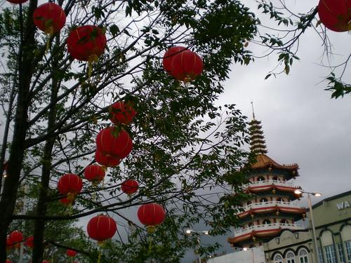 Chinese New Year mood in Sibu