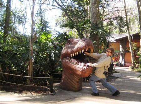 Dinosaur World, Plant City, Fla., Between Tampa & Orlando, I-4, Jan. 23, 2011