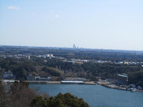 Hamamatsu in the distance