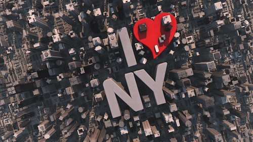 I love NY city view, typography