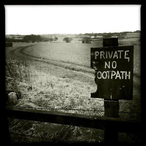 No Footpath
