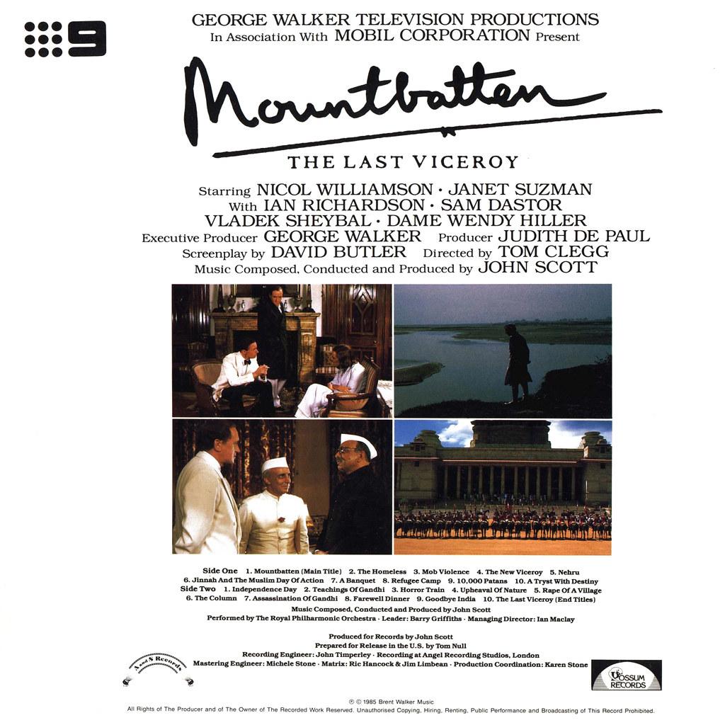John Scott - Mountbatten: The Last Viceroy
