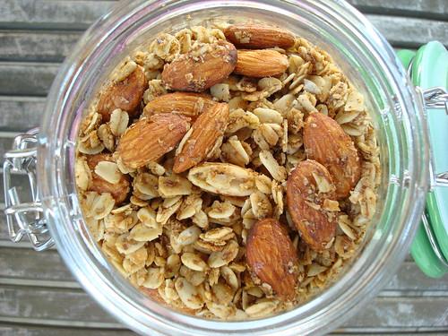 Almond Ginger Granola