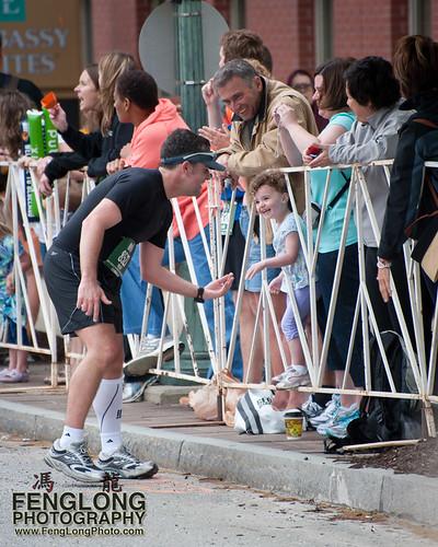 Runners at the 2011Georgia Marathon - The Spirit of the Endurance Athlete