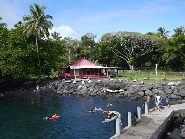 Saturday Afternoon at Pohoiki Boat Ramp