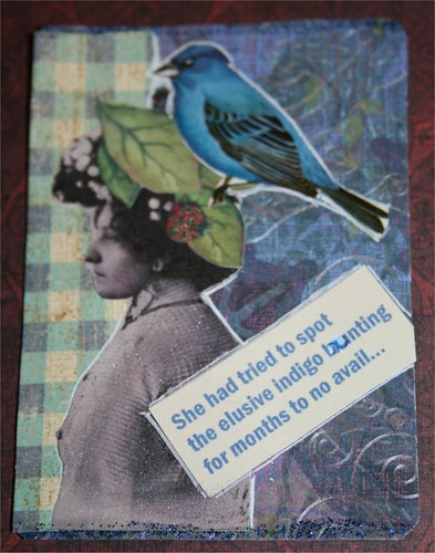 Humor ATC for Artful Ideas WTA