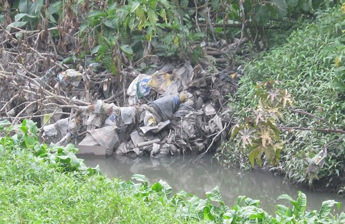 Contaminación Humedal Córdoba Bogotá