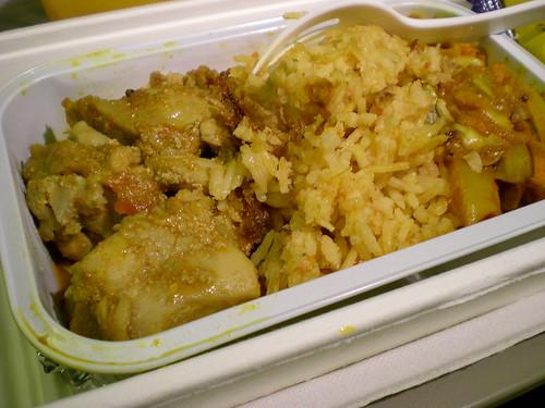 MAS chicken kusi & tomato rice