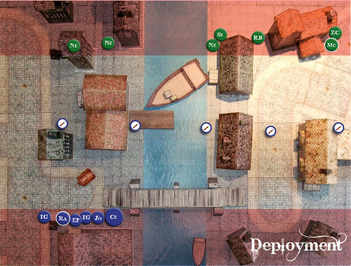 Malifaux Battle Report - Deployment