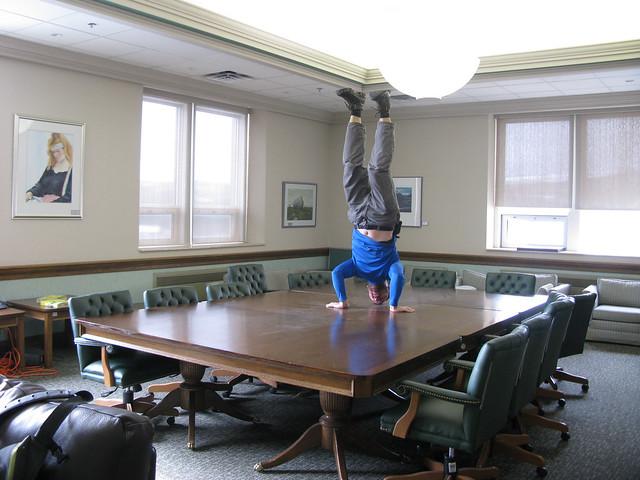 Confederation Building - Caucus Room!