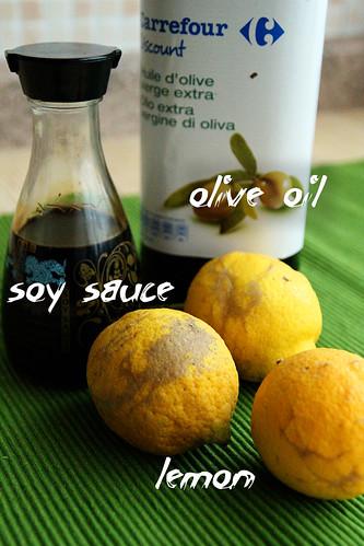 olive-oil-soy-sauce-lemon