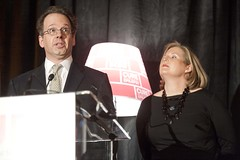 Fred Vogelstein and Evelyn Nussenbaum, co-chairs