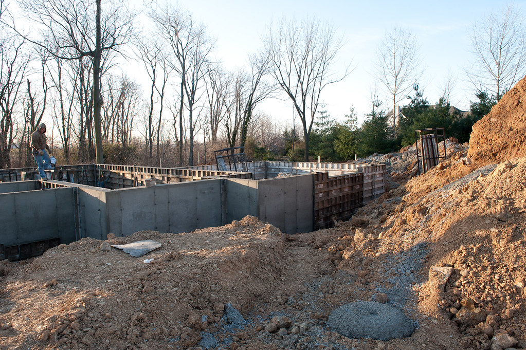 Foundation Forms Being Removed