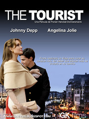 The tourist poster movie