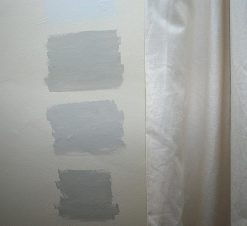 4 paint samples