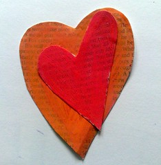 Heart over heart