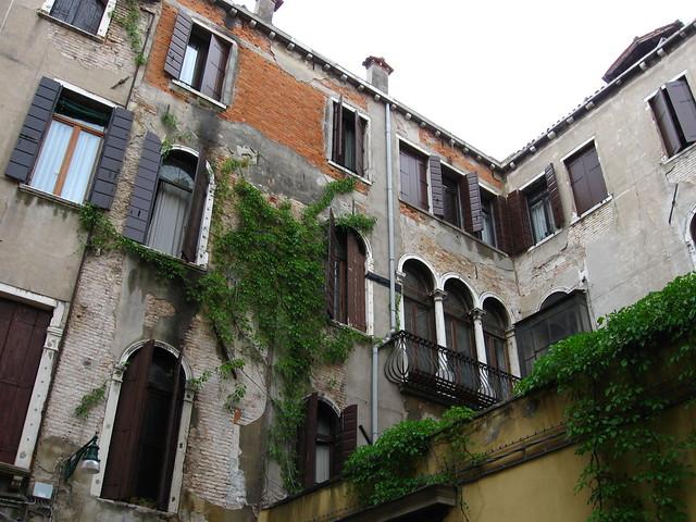 一般的なヴェネツィアの建物