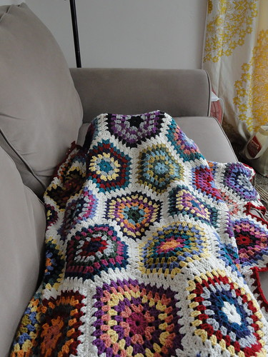 Hexie Blanket - perfect fit