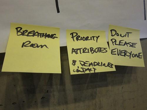 Prioritize attributes