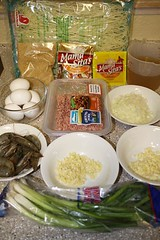 Palabok Ingredients