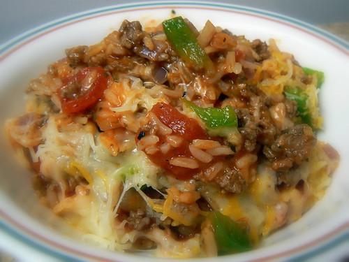 Hamburger - Rice Skillet