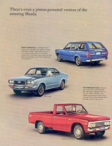 Mazda brochure