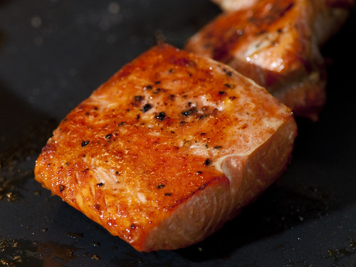 Rational Grilled salmon