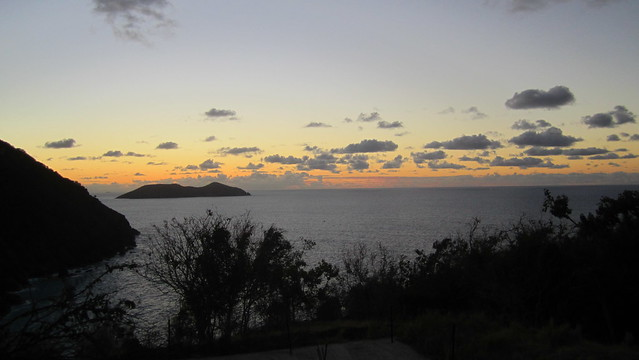 Sunset Looking West from Jost Van Dyke