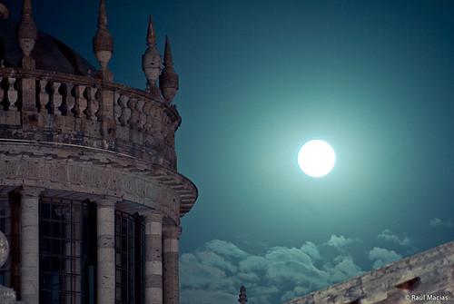 Cabañas y Luna