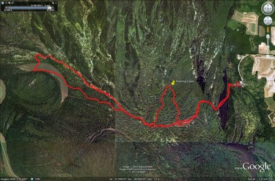 Sparkleberry Paddle Route