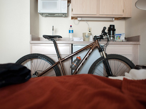 29er in my hotel room