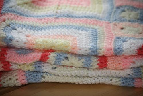 FO: Babette Blanket (1/4)