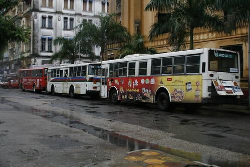 Autobuses Yangon