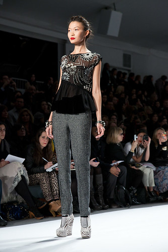 New York Fashion Week Fall 2011 - Nanette Lapore 35