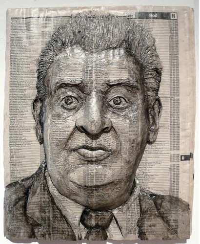 Alex Queral Book Carvings 5 Rodney Dangerfield