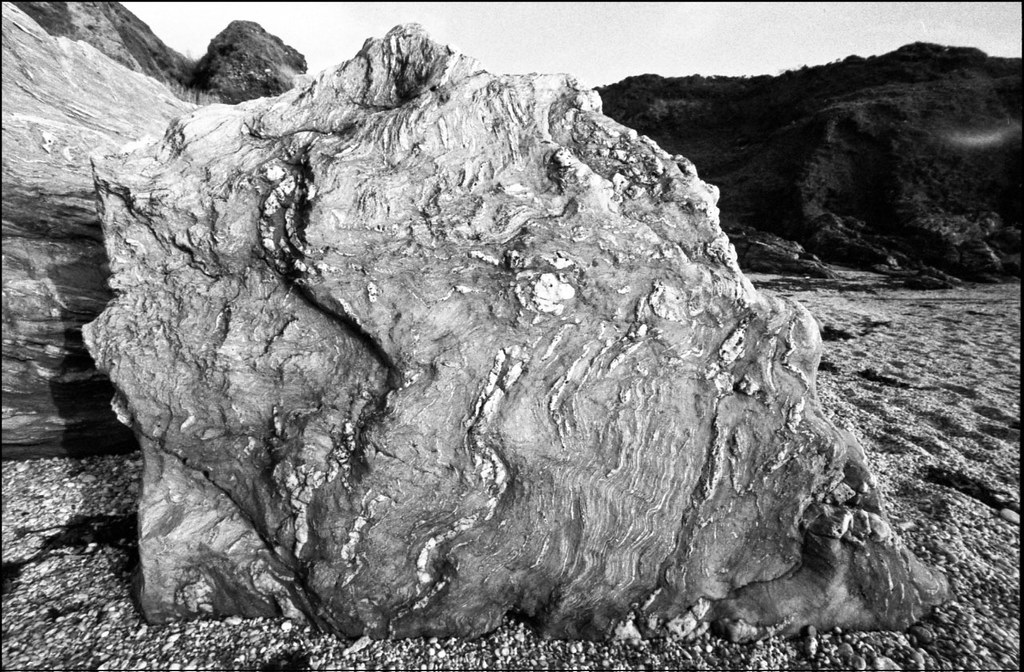 Mattiscombe Beach rock 2