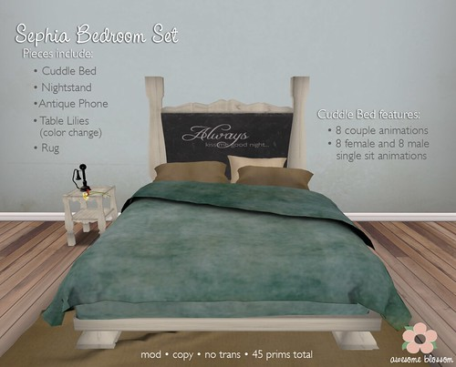 Sephia Bedroom Set