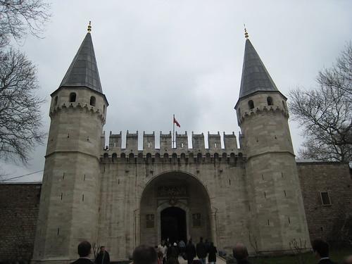 Gate to the Topkapi Palace