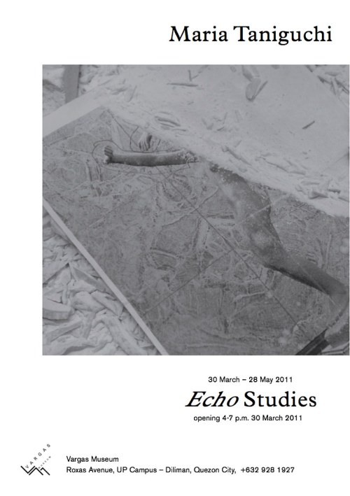 MTaniguchi Echo Studies Invite