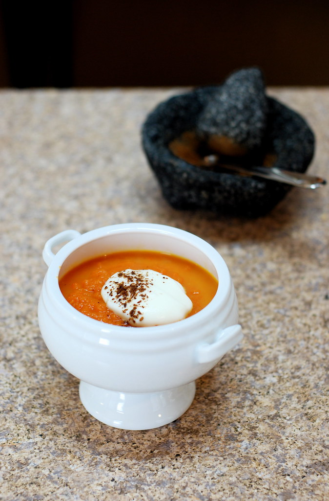 Moroccan Carrot Soup