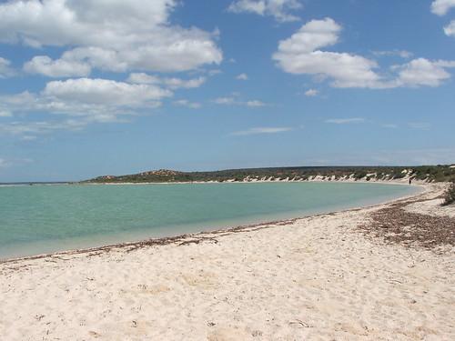 White Beach at Shark Bay
