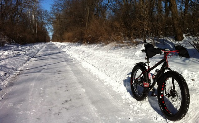 Plowed Badger Trail