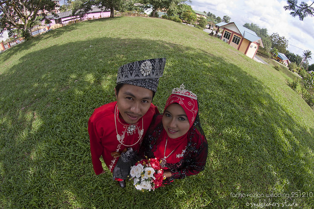 fariha azlan  wedding 0100