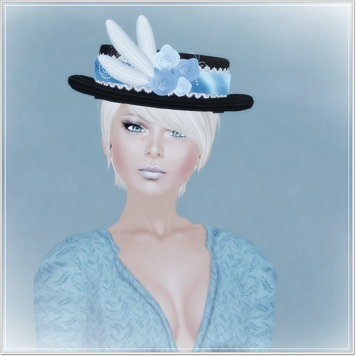 Lady Cora - Sky and Blue Roses - Sixty Linden Weekend